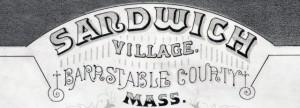 1884 Poole MapTitle