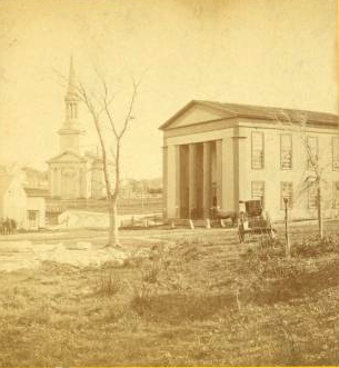 Sandwich Town Hall late 1870s