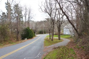 """Cedarvile"" Today: #82 Old County Rd./Joseph Nye III House on right"
