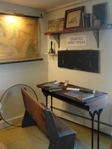 Desk from Cedarville School