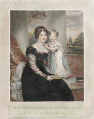 Queen-Victoria-with-her-mother