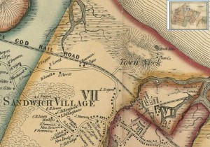 1857 Map by Henry F. Walling