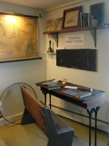 Desk from Cedarville School