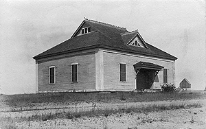 Sand Hill School ca. 1900