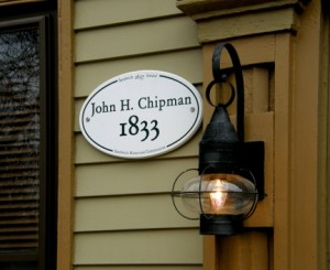 John H Chipman Historic Marker