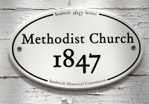 Methodist Church 1847 Historic Marker
